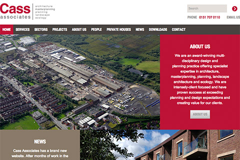 Cass Associates - New Website Unveiled