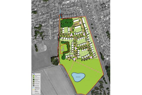 New Homes in Formby Housing Layout