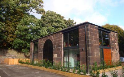 Calderstones 'Story Barn' Completed