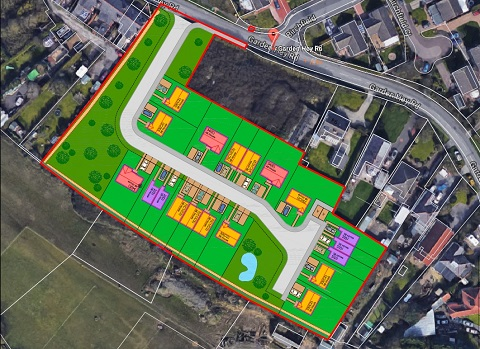 Application for 19 Homes in Wirral Green Belt