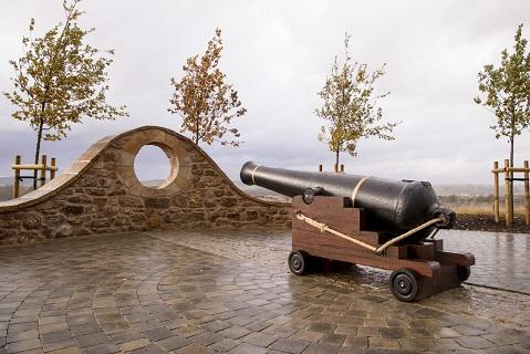 Armistice Monument Unveiled at Dargavel Village